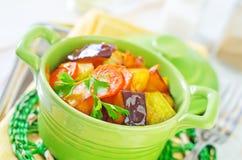 Испеченные овощи Стоковое Изображение RF