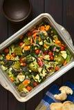 испеченные овощи Стоковые Изображения RF