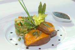 испеченные овощи batat Стоковые Изображения