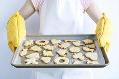 испеченные печенья свеже стоковые фото