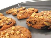 испеченные печенья свежие Стоковое Фото