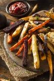 Испеченные печью фраи овоща Стоковые Изображения RF