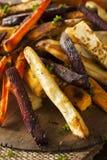 Испеченные печью фраи овоща Стоковые Изображения