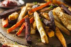Испеченные печью фраи овоща Стоковая Фотография