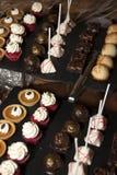 Испеченные причудливые десерты Стоковая Фотография