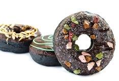 Испеченные причудливые donuts Стоковая Фотография