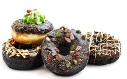 Испеченные причудливые donuts Стоковое Изображение