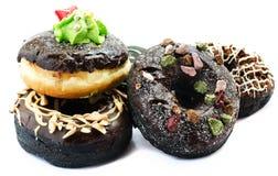 Испеченные причудливые donuts Стоковые Фото
