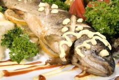 испеченные рыбы стоковые фотографии rf