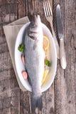 Испеченные рыбы Стоковые Фото