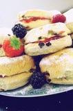 испеченные свежие scones Стоковое Фото