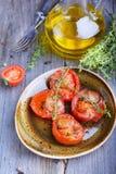 Испеченные томаты Стоковые Изображения
