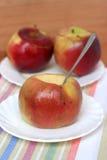 Испеченные яблоки Стоковая Фотография