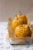 испеченные яблоки Стоковое Фото
