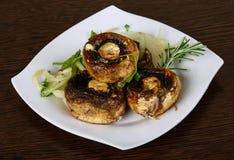 испеченные champignons Стоковая Фотография