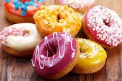 Испеченные donuts Стоковые Изображения