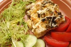 испеченные vegetabels свинины Стоковое Фото