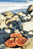 Испеченный индивидуалом хлеб foccacia томата Стоковые Фотографии RF