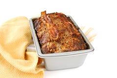 испеченный лоток meatloaf Стоковое Фото