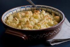 испеченный пармезан cauliflower Стоковое фото RF