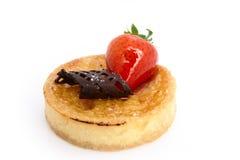 испеченный пирог заварного крема Стоковые Изображения