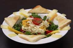 испеченный салат лабораторий feta сыра Стоковое Изображение RF