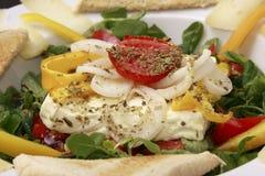 испеченный салат овечек feta сыра Стоковое Фото