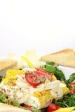 испеченный салат овечек feta сыра Стоковое Изображение RF
