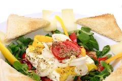 испеченный салат овечек feta сыра Стоковые Изображения