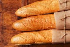 испеченный франчуз хлеба свеже стоковые изображения