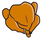 Испеченный цыпленок Стоковая Фотография RF
