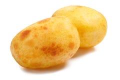2 испеченных картошки, пути Стоковое Фото