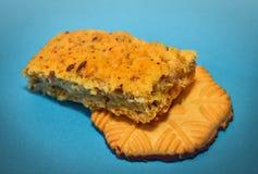 2 испеченных печенья Стоковые Фотографии RF