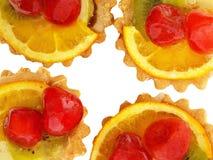 испечет белизну плиты 2 фото углов 4 вишни обнаруженную местонахождение лимоном Стоковая Фотография