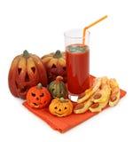 испечет томат сока halloween Стоковая Фотография