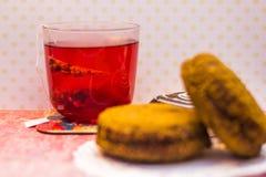 испечет чай Стоковое Изображение RF