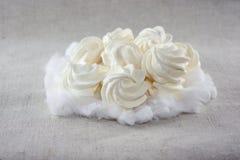 испечет meringue мягко Стоковая Фотография