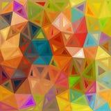 Испещрянная абстрактная предпосылка вектора треугольников Стоковое Фото