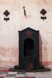 Исповедальня в церков Санты Cristina Стоковые Изображения RF