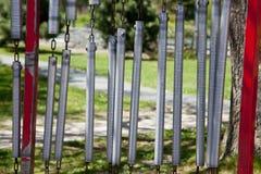 Исполинские перезвоны ветра стоковое изображение