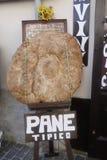 Исполинский круглый ломоть хлеба Стоковое фото RF