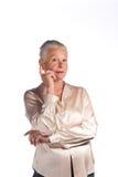 исполнительный женский старший стоковые изображения