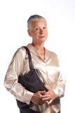 исполнительный женский старший Стоковое Изображение