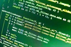 Использование CSS, JavaScript и HTML стоковые фотографии rf