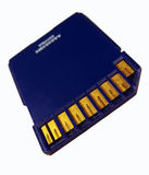 используемая память карточки Стоковое фото RF