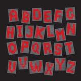 используемая технология принимать изображений фото света замораживания английской языка алфавита была электронные письма диод век иллюстрация штока