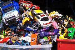 используемые игрушки Стоковое Фото