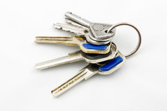 Используемые ключи Стоковая Фотография RF