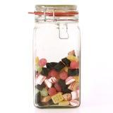 используемые помадки плодоовощ конфеты Стоковые Изображения