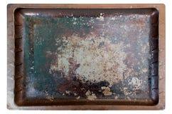 Используемый печь поднос Стоковое Фото